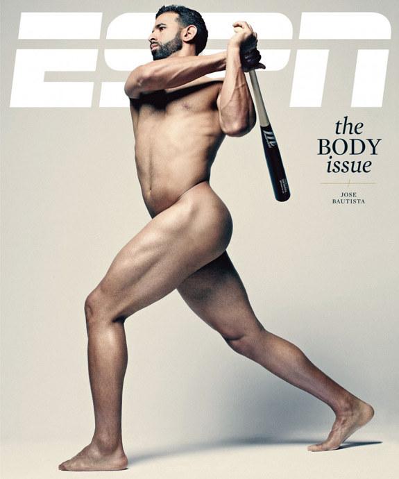 Jose Bautista na okładce magazynu ESPN /INTERIA.PL