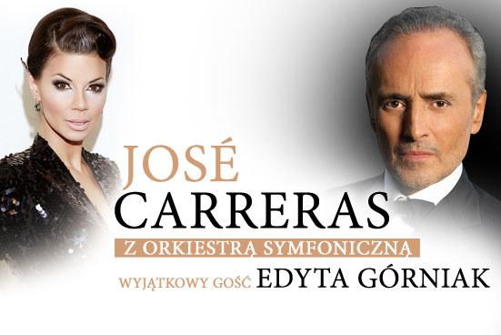 Jose Carreras i Edyta Górniak /materiały prasowe