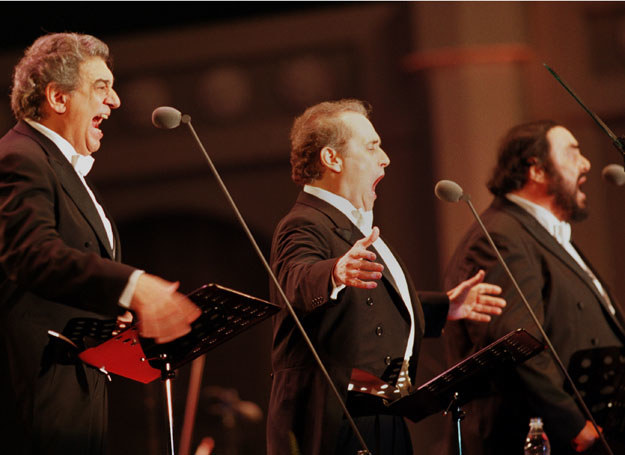 Jose Carreras - jeden z trzech słynnych tenorów /Getty Images/Flash Press Media