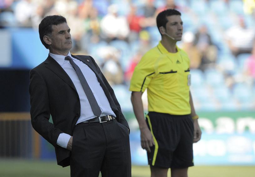 Jose Luis Mendilibar został zwolniony z powodu słabych wyników /AFP