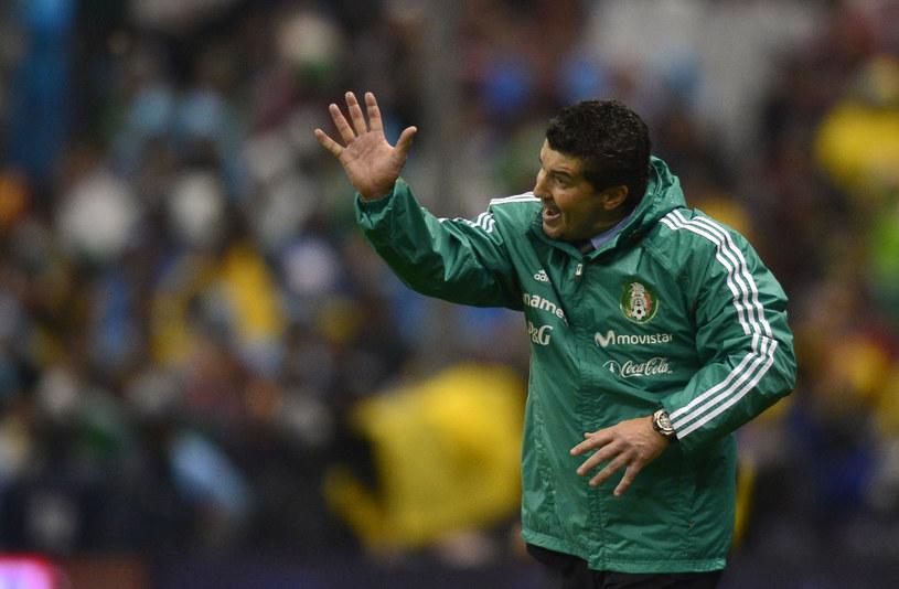 Jose Manuel de la Torre podczas meczu z Hondurasem /AFP