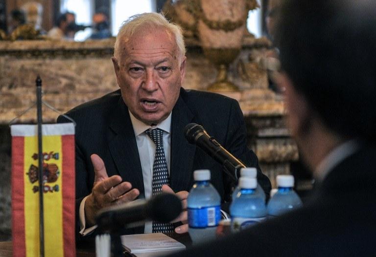 Jose Manuel Garcia Margallo /YAMIL LAGE / AFP /AFP