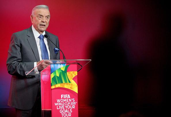 Jose Maria Marin został surowo ukarany przez futbolową centralę /Getty Images