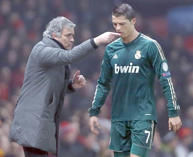 Jose Mourinho i Cristiano Ronaldo /Jasper Juinen /Getty Images