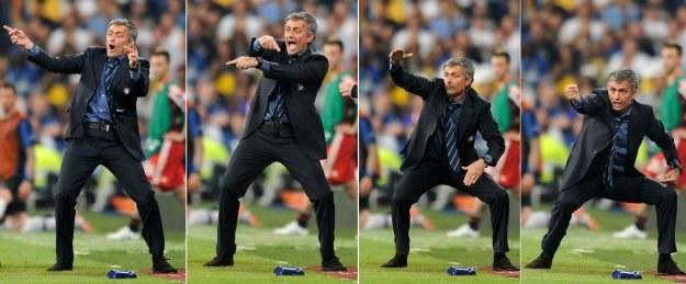 Jose Mourinho i jego najświeższe wcielenia. /AFP