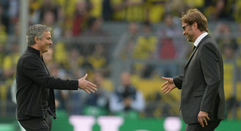 Jose Mourinho i Juergen Klopp. /AFP