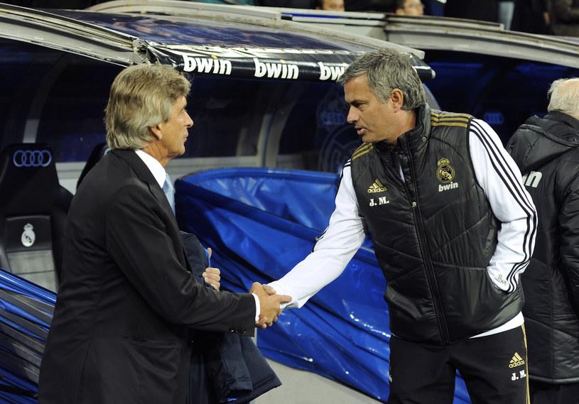 Jose Mourinho i Manuel Pellegrini rywalizowali ze sobą jeszcze w Primera Division /AFP