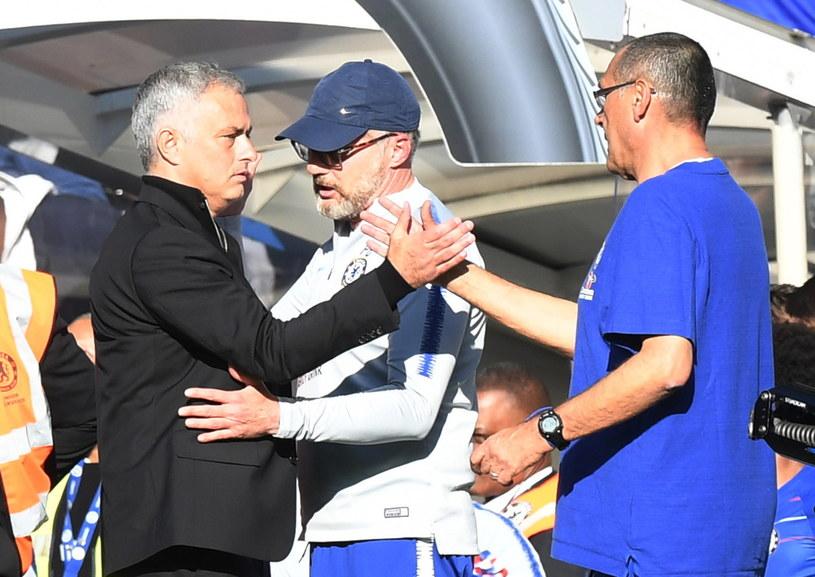 Jose Mourinho i Maurizio Sarri /PAP/EPA