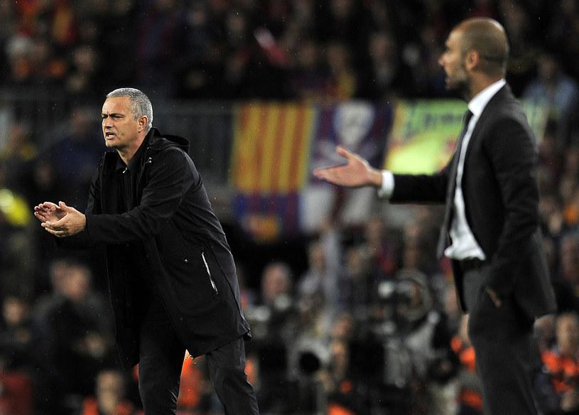 Jose Mourinho i Pep Guardiola - pierwsze starcie gigantów już w meczu o Superpuchar Europy! /AFP