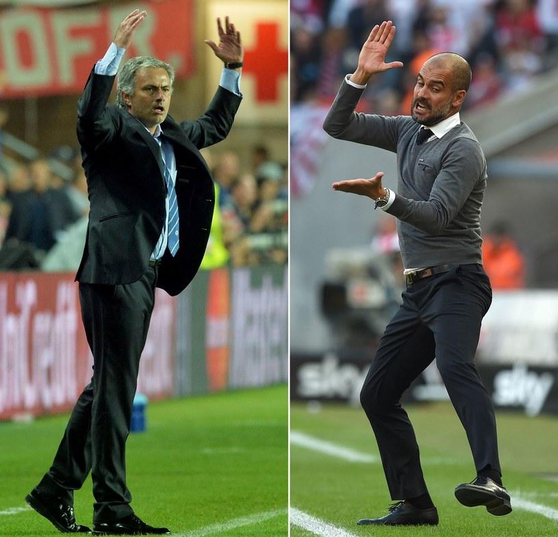 Jose Mourinho i Pep Guardiola /AFP
