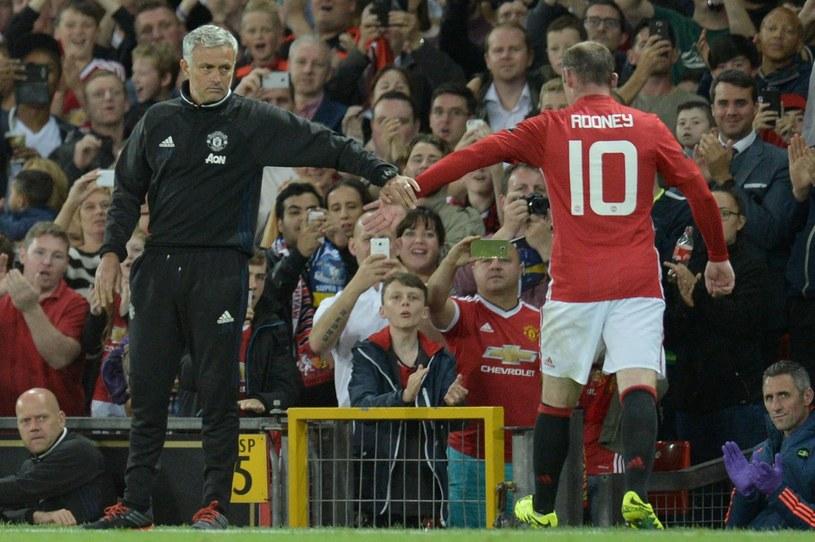 Jose Mourinho i Wayne Rooney /AFP