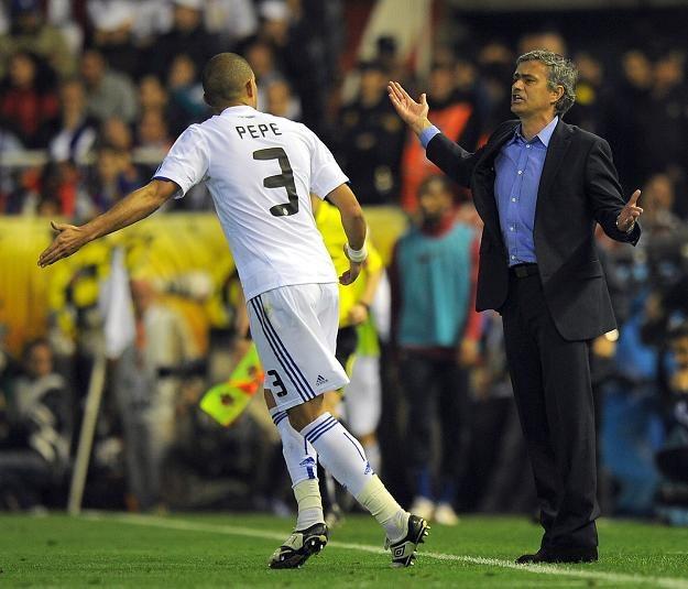 Jose Mourinho nie ma pretensji do Pepe. /AFP