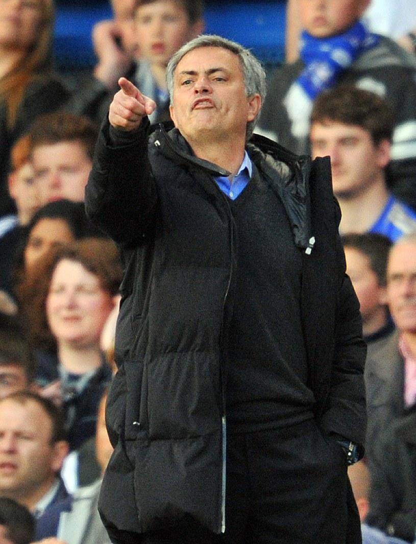 Jose Mourinho podczas meczu z Sunderlandem /AFP