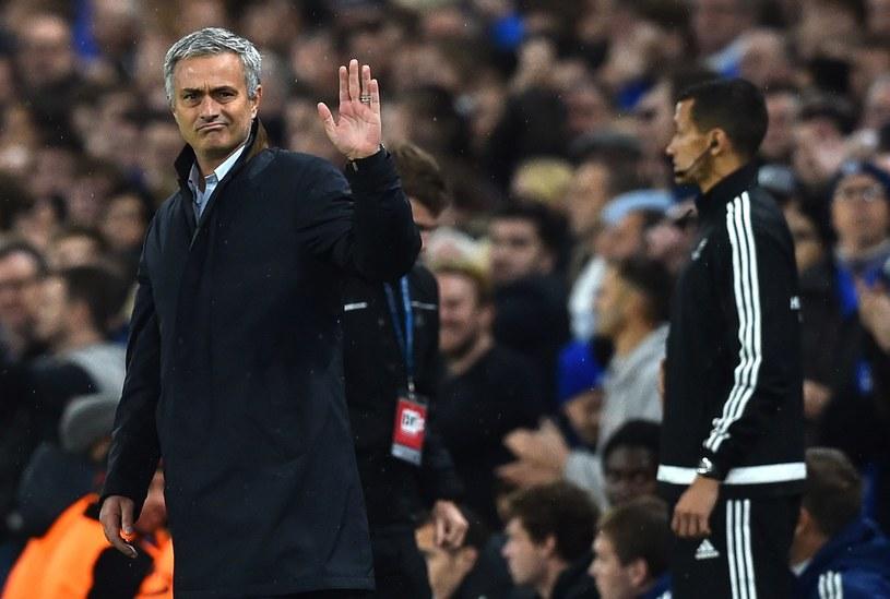 Jose Mourinho pożegnał się z Chelsea /AFP