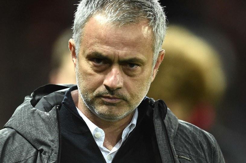 Jose Mourinho, trener Manchesteru United /OLI SCARFF / AFP /