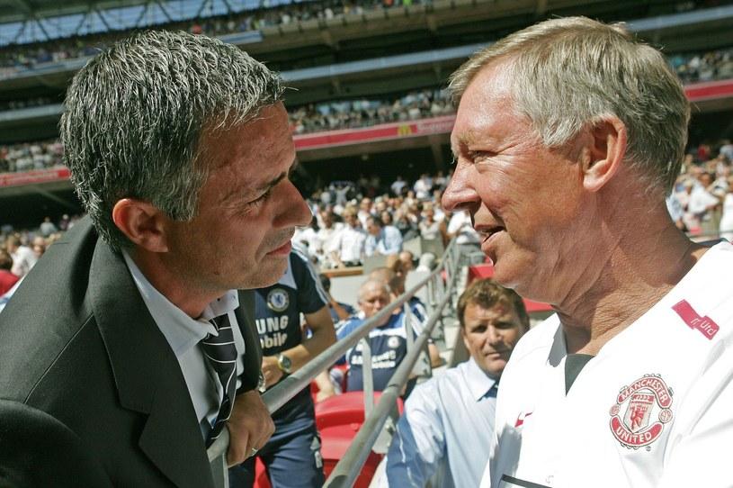 Jose Mourinho (z lewej) i Alex Ferguson /AFP
