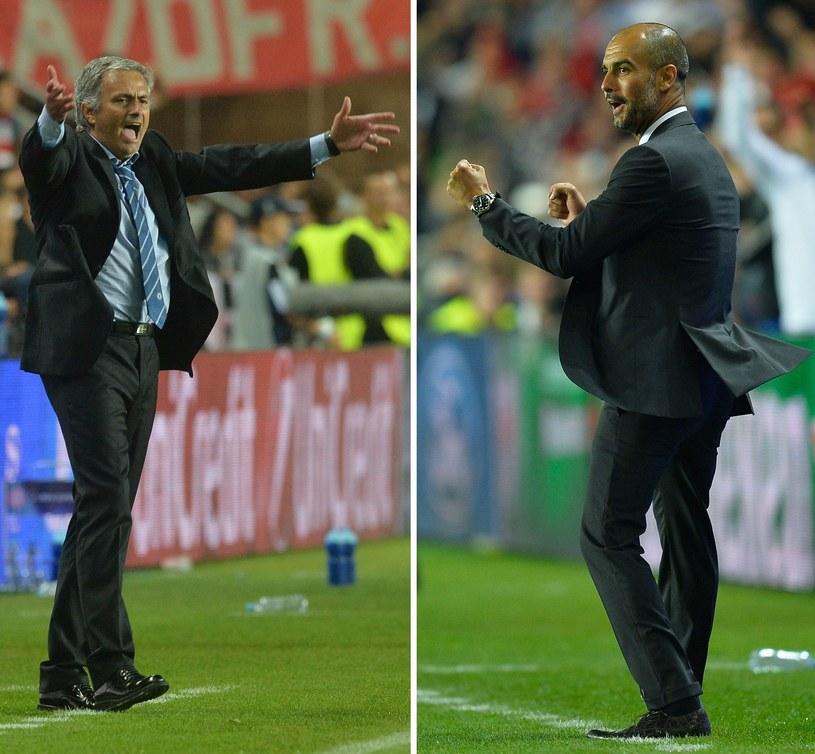 Jose Mourinho (z lewej) i Josep Guardiola /AFP