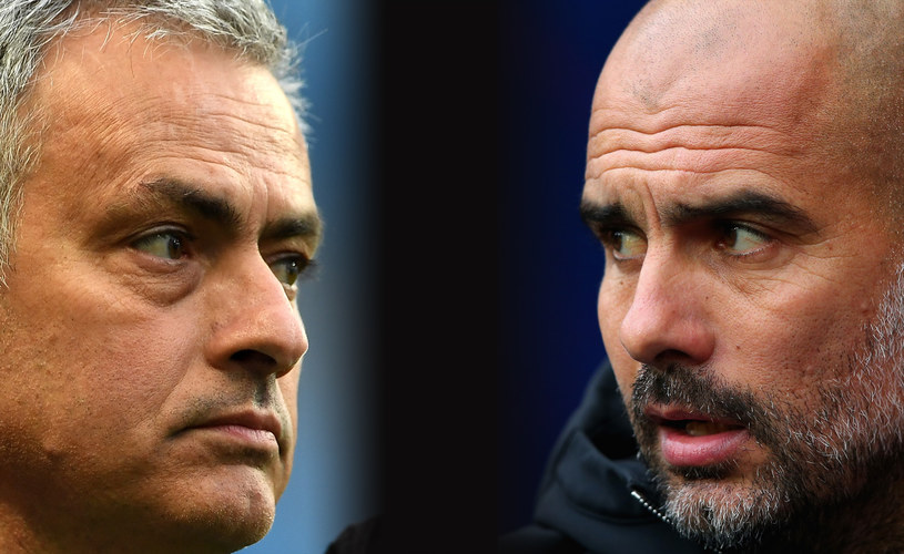 Jose Mourinho (z lewej) i Josep Guardiola /Getty Images