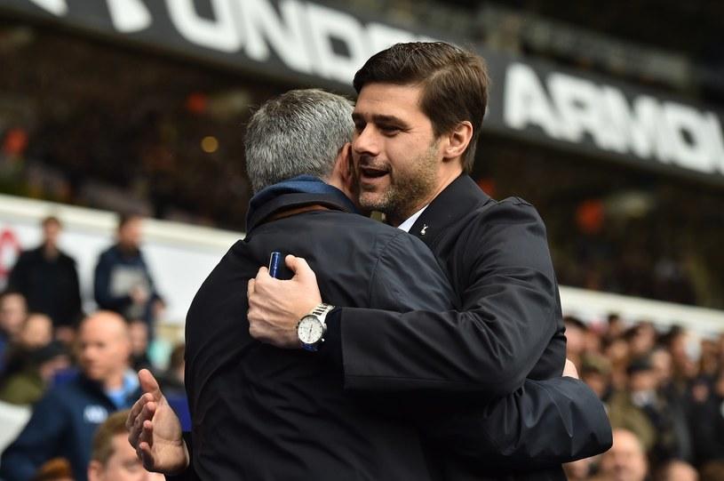 Jose Mourinho (z lewej) i Mauricio Pochettino /AFP