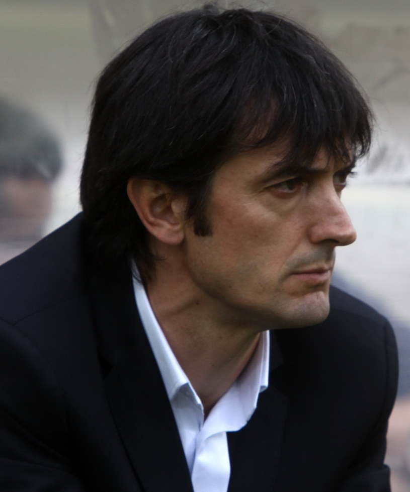 Jose Rojo Martin Pacheta, trener Korony Kielce /Marek Zimny /PAP