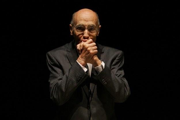 Jose Saramago - zdjęcie z 2008 roku /AFP