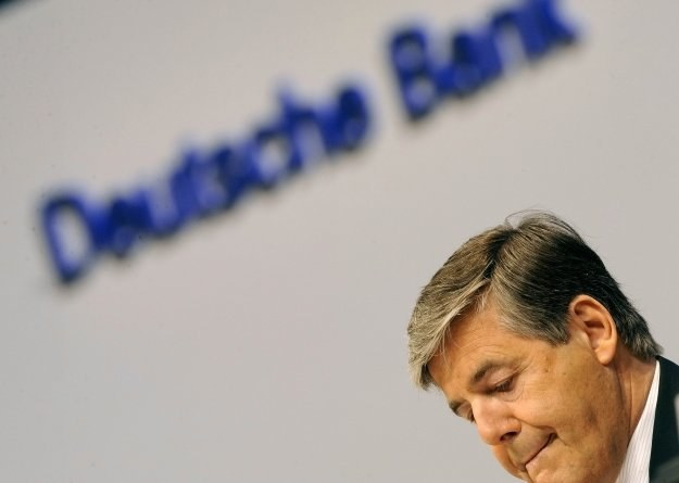 Josef Ackermann, prezes niemieckiego Deutsche Bank AG /AFP