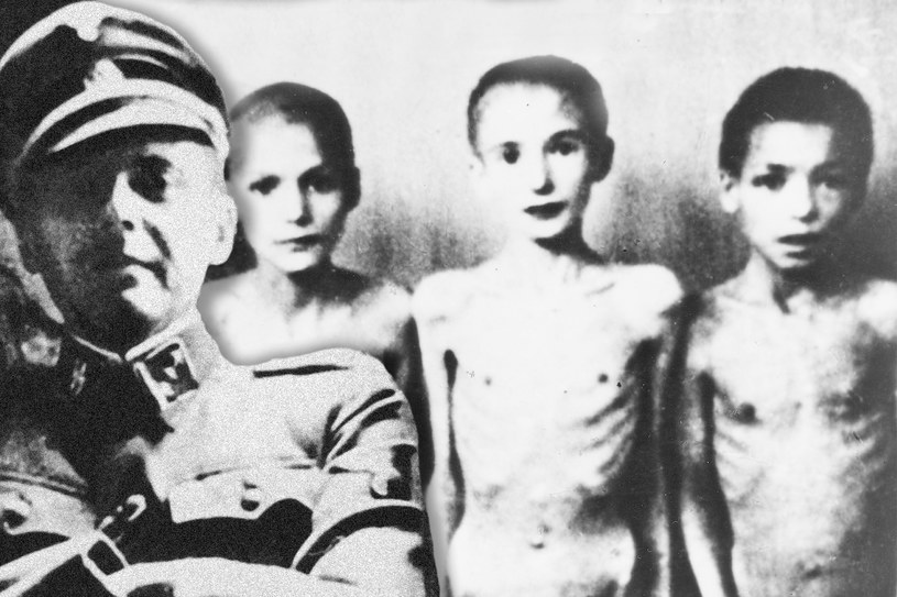 Josef Mengele przeprowadzał eksperymenty na dzieciach /Getty Images