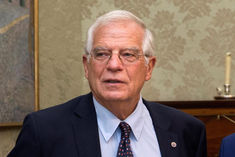 Josep Borrell /PAP/EPA/LUCA PIERGIOVANNI /PAP/EPA