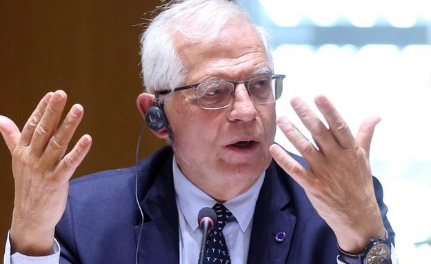 Josep Borrell /FRANCOIS WALSCHAERTS / POOL /PAP/EPA