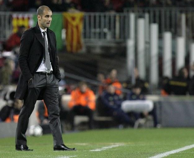 Josep Guardiola nie poprowadzi Barcelony w meczu z Valencią /AFP