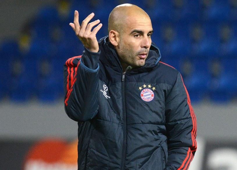 Josep Guardiola, prowadził Barcelone, teraz Bayern /AFP