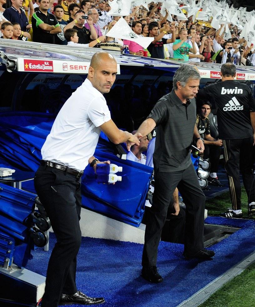 Josep Guardiola (z lewej) i Jose Mourinho /AFP