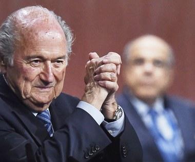 Joseph Blatter - kontrowersyjny szef FIFA