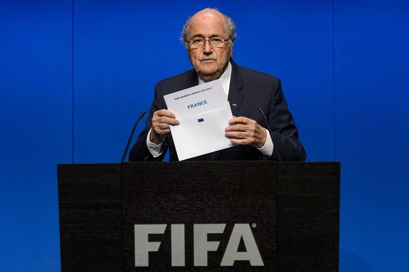 Joseph Blatter, szef FIFA /AFP
