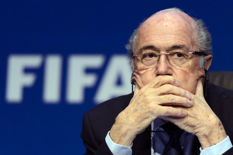 Joseph Blatter zrezygnował! /AFP