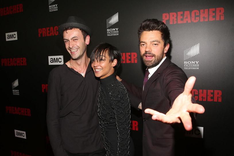 Joseph Gilgun, Ruth Negga, Dominic Cooper /Jesse Grant /Getty Images