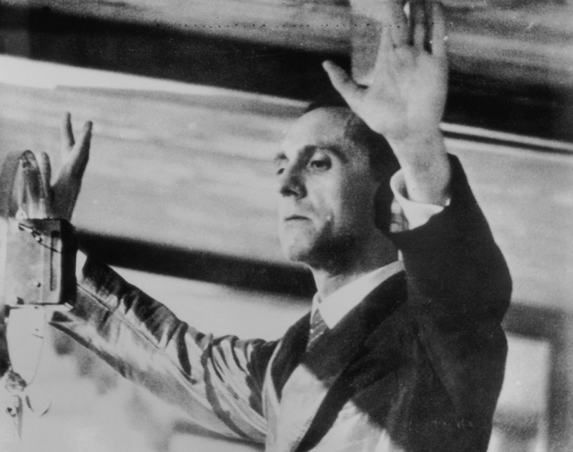 Joseph Goebbels /Getty Images