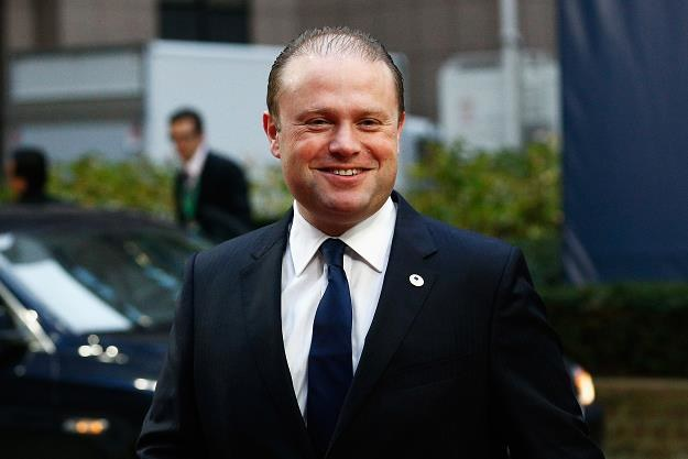 Joseph Muscat, premier Malty. Fot. Dean Mouhtaropoulos /Getty Images/Flash Press Media