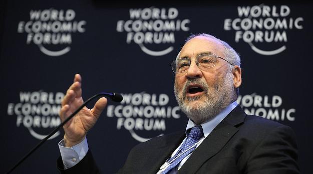 Joseph Stiglitz, laureat ekonomicznej Nagrody Nobla w 2001 roku /AFP