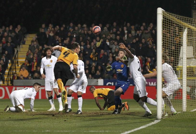 Josh Coulson był bliski strzelenia gola w meczu z Manchesterem United /AFP