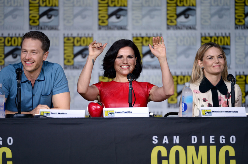 Josh Dallas, Lana Parrilla, Jennifer Morrison /Matt Winkelmeyer /Getty Images