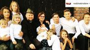 Joszko Broda i Debora Broda mają 11 dzieci! Ludzie atakują ich za 500 plus