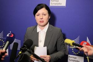 Jourova po spotkaniach w Warszawie: Nie postrzegam propozycji Ziobry jako kompromisu