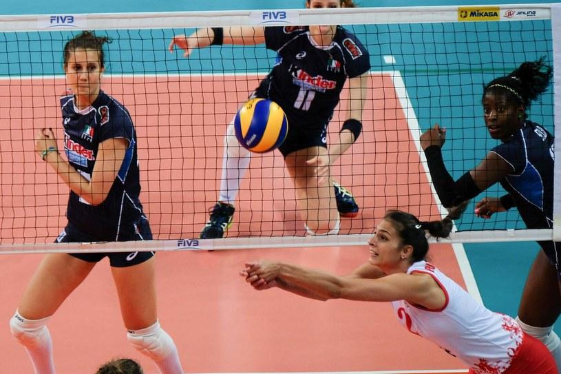Jovana Brakoczević-Canzian w meczu z Włoszkami podczas IO w Rio de Janeiro /AFP