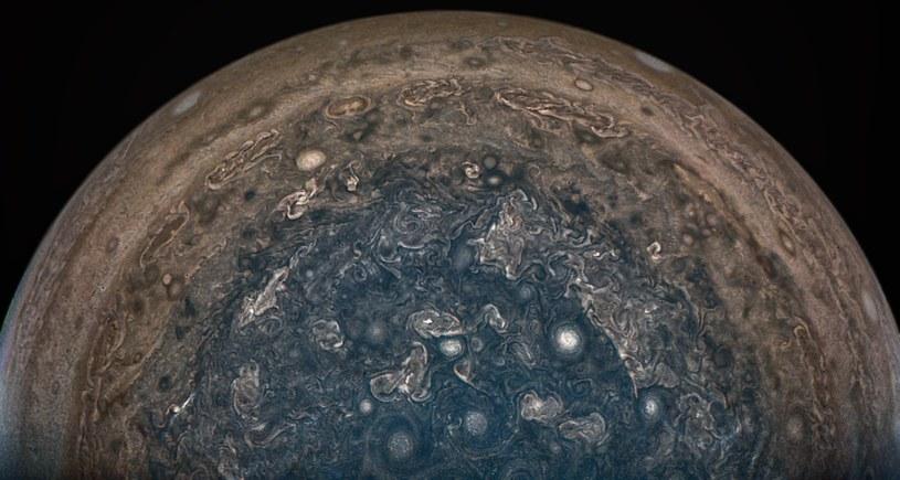 Jowisz w całym swoim majestacie /NASA