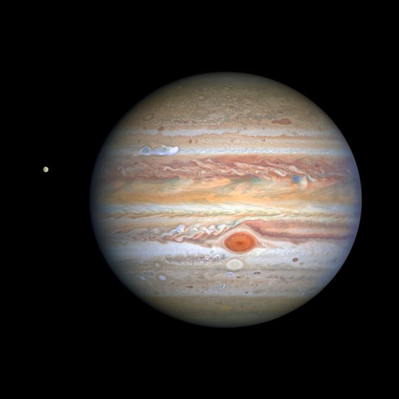 Jowisz w obiektywie Hubble'a /materiały prasowe