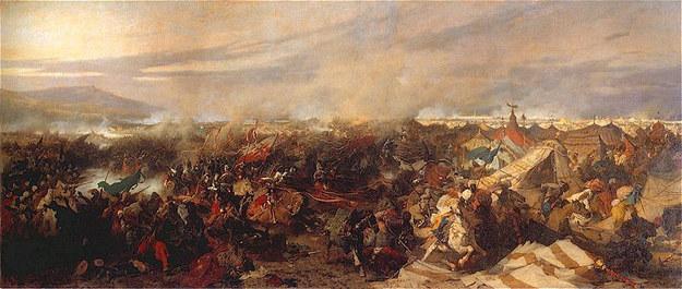 """Józef Brandt """"Bitwa pod Wiedniem"""" /Domena publiczna /Wikimedia"""