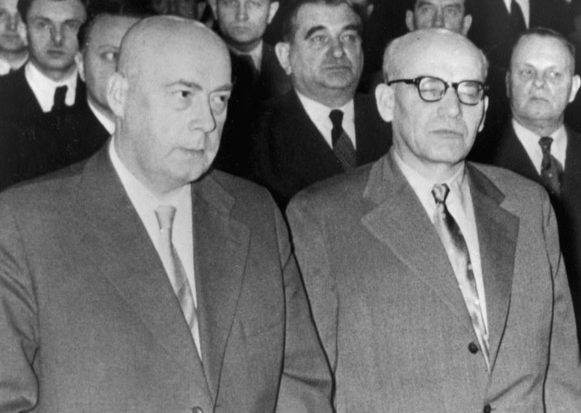Józef Cyrankiewicz i Władysław Gomułka /AFP