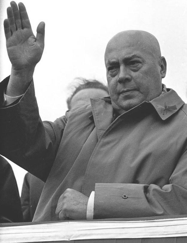 Józef Cyrankiewicz, premier Polski Ludowej w latach 1947-70 (z przerwą na lata 1952-54) /KAROL SZCZECINSKI /East News