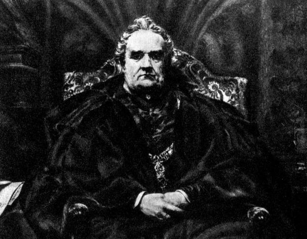 Józef Dietl na portrecie namalowanym przez Jana Matejkę. Reprodukcja: Piotr Mecik /Agencja FORUM